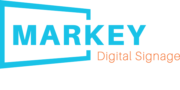 MARKEY Digital Signage by wisnet.com logo